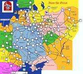 Board Game: Ivan the Great: The Rise of Muscovy 1462-1505