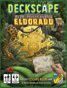 Deckscape Mystery Of Eldorado Escape Room Card Game Davinci Games DVG 5702 Party