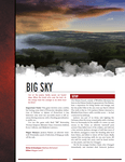 RPG Item: Big Sky