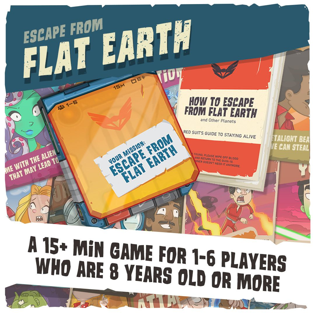 Escape from Flat Earth