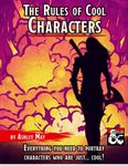 RPG Item: The Rules of Cool Characters