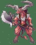 Character: Minotaur (Rune Factory)