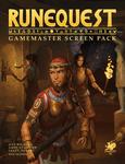 RPG Item: RuneQuest Gamemaster Screen Pack
