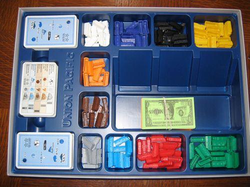 Board Game: Union Pacific