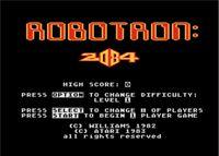 Video Game: Robotron: 2084