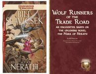 RPG Item: Wolf Runners of the Trade Road