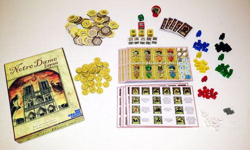 Board Game: Notre Dame Express
