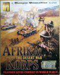 Board Game: Afrika Korps: The Desert War – Platoon Level Combat in World War II: A Panzer Grenadier Game