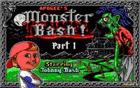 Video Game: Monster Bash