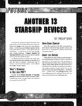 RPG Item: Another 13 Starship Devices