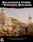 RPG Item: Balduran's Guide to Kingdom Building