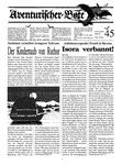 Issue: Aventurischer Bote (Issue 45 - 1993)
