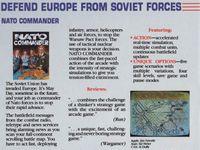 Video Game: NATO Commander