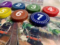 Board Game Accessory: 1822: The Railways of Great Britain – Deluxe Player Order Upgrade