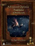 RPG Item: Advanced Options: Traditions of Arcane Lore