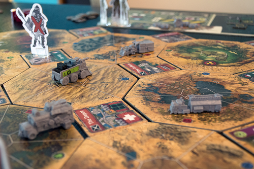 Board Game: Wasteland Express Delivery Service