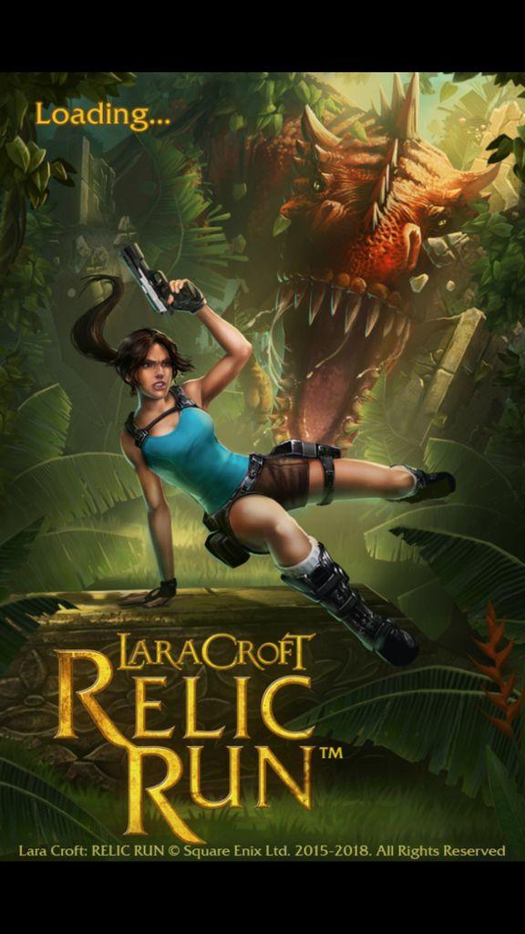 Video Game: Lara Croft: Relic Run