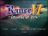 Video Game: Rance IV – Collapse of Zeth –
