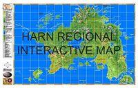 RPG Item: Harn Regional Map
