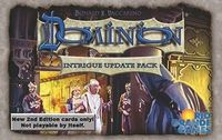 Board Game: Dominion: Intrigue – Update Pack