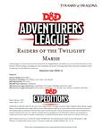 RPG Item: DDEX1-12: Raiders of the Twilight Marsh