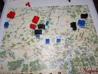 First three player game; the shattered remains of Napoleons army.