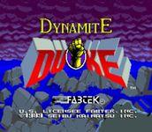 Video Game: Dynamite Duke