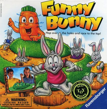 Reed Funny Bunny Rattle