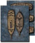 RPG Item: GameMastery Flip-Mat: Pirate Ship