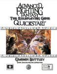 RPG Item: Advanced Fighting Fantasy Quickstart