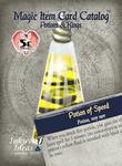 RPG Item: Magic Item Card Catalog: Potions & Rings