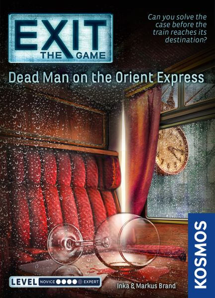 EXIT: The Game – Dead Man on the Orient Express, KOSMOS, 2018 — front cover (image provided by the publisher)