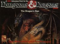 Board Game: Dungeons & Dragons: The Dragon's Den