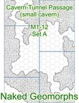 RPG Item: Naked Geomorphs: Cavern-Tunnel Passage (Small Cavern)
