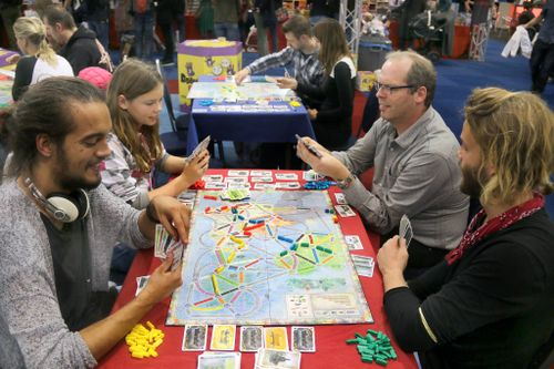 Board Game: Ticket to Ride Map Collection: Volume 5 – United Kingdom & Pennsylvania