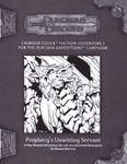 RPG Item: CDX-01: Prophecy's Unwitting Servant