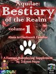 RPG Item: Aquilae: Bestiary of the Realm: Volume 1 (5E)