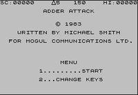 Video Game: Adder Attack