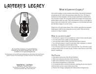 RPG Item: Lantern's Legacy (Game Chef Edition)