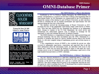 RPG Item: OMNI-Database Primer