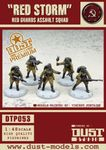 "Board Game: Dust Tactics: Red Guards Assault Squad – ""Red Storm"""