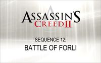 Video Game: Assassin's Creed II: Battle of Forli