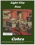 RPG Item: Light City Foes: Cobra