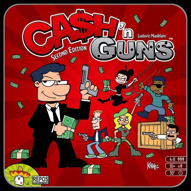 Ca$h 'n Guns (Second Edition) | Board Game | BoardGameGeek