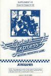 Board Game: Orient Express Supplement #2