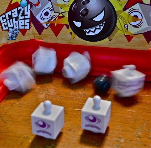Board Game: Crazy Cubes Bowling