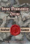 RPG Item: Snowy Mountaintop Throne