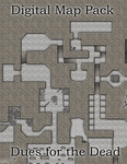 RPG Item: Digital Map Pack: Dues for the Dead
