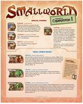 Board Game: Community's Compendium I (fan expansion for Small World)
