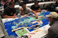 Board Game: WWII: The Struggle for Europe and Asia
